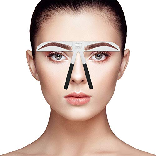 - Professional Eyebrow Stencil Ruler For Eyebrows Measuring Permanent Makeup Tools(5)