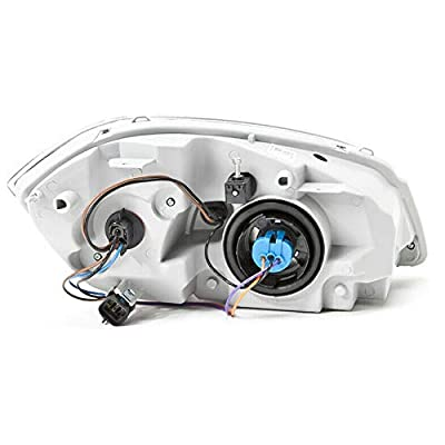 Epic Lighting OE Style Replacement Headlight Assembly for 2005-2010 Chevrolet Cobalt [ GM2502281 15279751 22740621 ] Left Driver Side LH: Automotive