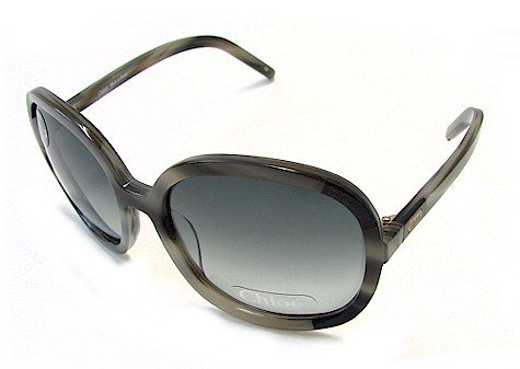 eb712038e9d6 Chloe CL 2189 Sunglasses CL2189 Grayish Black C04 Shades  Amazon.co.uk   Clothing