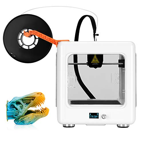 KACSOO Mini 3D Printer for Kids & Beginners with Digital Display No Assembly Required 3D Printer with Protective Window…