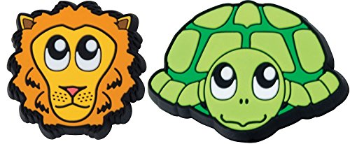 Gamma Sports Zoo Damps Vibration Dampeners(2-Pack) - Turtle/Lion