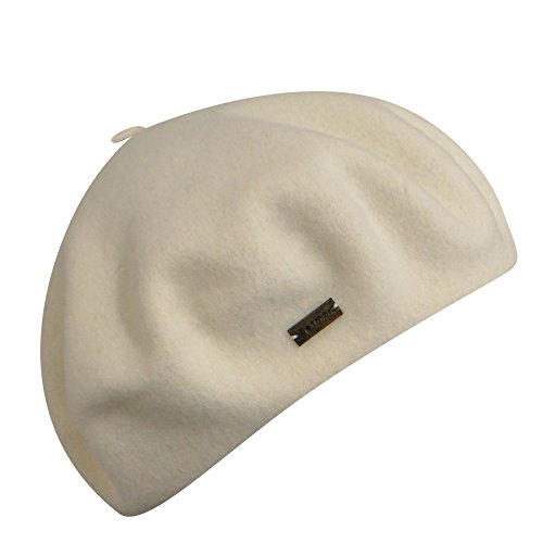 Betmar Women French Beret White One Size Fits Most by Betmar