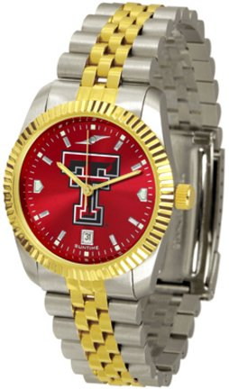 SunTime Texas Tech Red Raiders Executive AnoChrome Men's Watch (Raiders Executive Watch)