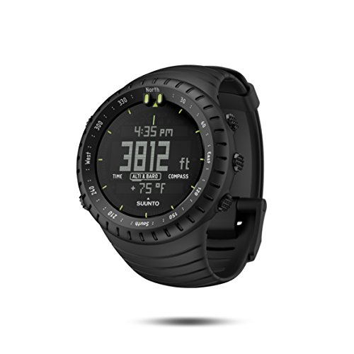 Large Product Image of Suunto Core All Black Military Men's Outdoor Sports Watch - SS014279010