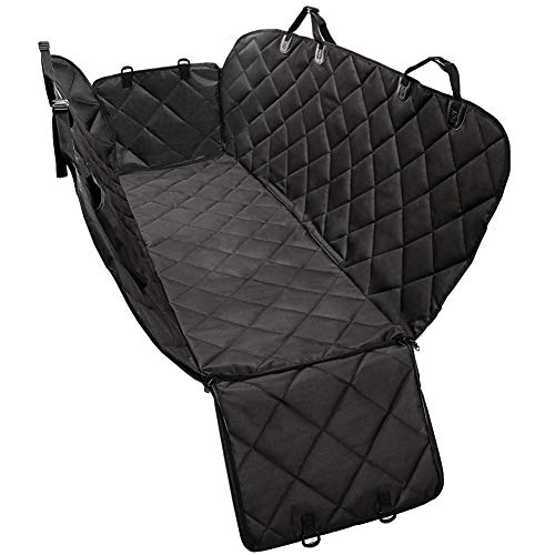 Dog Seat Cover Car Seat Covers for Pets Pet Seat Cover Dog Hammock for Back Seat Scratch Proof Nonslip Durable Heavy Duty Dog Seat Covers for Cars Trucks and SUVs by KQRNS