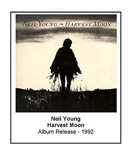 Neil Young Harvest Moon 1992 Album Cover 3