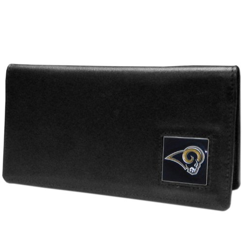 NFL St. Louis Rams Leather Checkbook Cover by Siskiyou