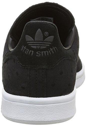 Adidas Stan Smith CF, Zapatillas para Mujer, Negro (Core Black/Core Black/Core Black), 42 EU
