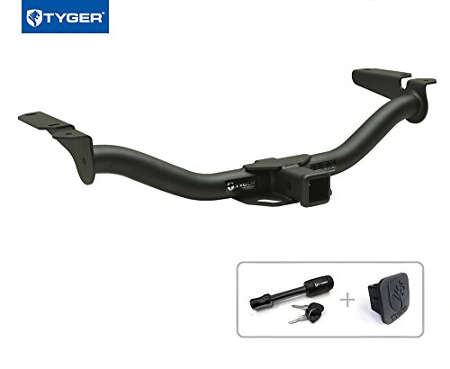 """Tyger Auto TG-HC3F0258 Class 3 Trailer Hitch Combo with 2"""" R"""