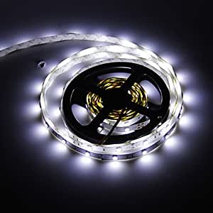HuaSheng 5M 36W 150x5050SMD Cool White Light LED Strip Lamp (DC 12V)