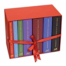 Harry Potter Box Set, Books 1 - 7, Gift: Written by J. K. Rowling, 2007 Edition, (Classic ed) Publisher: Bloomsbury UK [Hardcover]