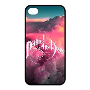 Fayruz- Cover For Customizable TPU Rubber iPhone 4/4S Case - Panic At The Disco