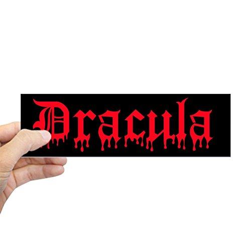 CafePress Dracula Bumper Sticker 10