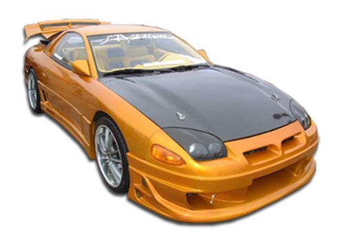 Duraflex Replacement for 1991-1999 Mitsubishi 3000GT Dodge Stealth Bomber Side Skirts Rocker Panels - 2 Piece
