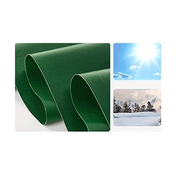 DUWEN Telo di copertura impermeabile in PVC spesso, multiuso, per giardino, campeggio, viaggi, grande tenda 6 x 10 m. 3 spesavip