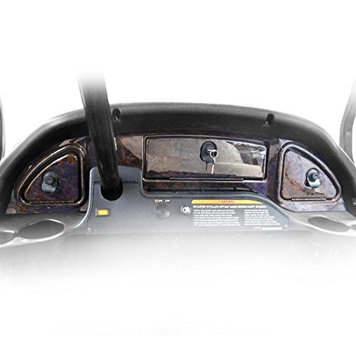 Madjax GDV3GKG Golf Cart Wood Grain Dash - Fits 08+ Club Car Precedent
