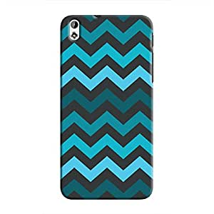 Cover It Up - Jagged Blue Desire 816Hard Case