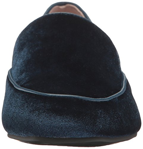 Gabby Slip-on Loafer Van Chinese Wasvrouw, Blauw Fluweel