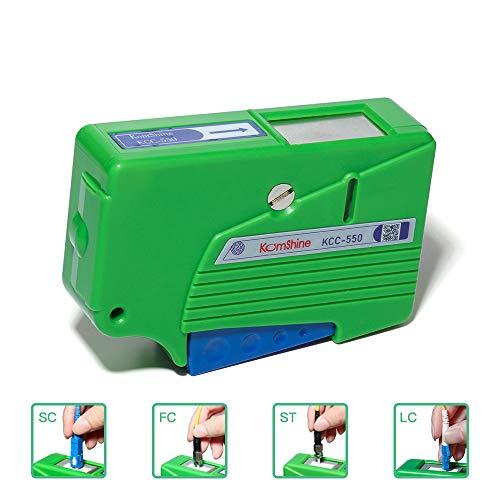 KOMSHINE KCC-550 Fiber optic connector cleaner/Optical Connector Cassette cleaner for all Single Fiber and MT Ferrules