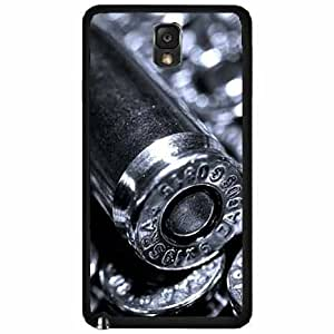 Silver Bullet - Plastic Phone Case Back Cover Samsung Galaxy Note III 3 N9002