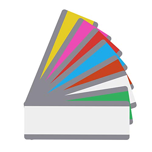 Reading Guide Highlighter Strips - Set of 8 Colors (Colored Overlays/Tinted Overlays) (Style -