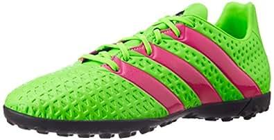 adidas Ace 16.4 TF, Botas de fútbol para Hombre, Verde/Rosa / Negro (Versol/Rosimp / Negbas), 39 1/3 EU