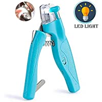 Deals on NXVO Pet Nail Clippers with Led Light for Dog Cat