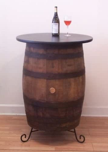 Ant Molly s Barrels White Oak Whiskey Barrel Table-Pub-Bistro-Bar c Stand
