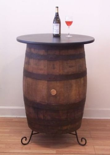 Amazoncom Ant Mollys Barrels White Oak Whiskey Barrel Table Pub