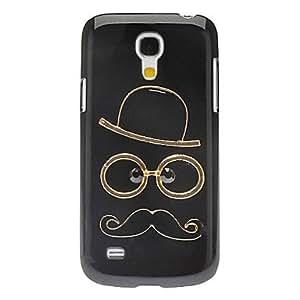 GDW Teléfono Móvil Samsung - Cobertor Posterior - Superficie de Cristal/Diseño Especial/Apariencia de Diamante - para Samsung S4 Mini I9190 ( Multi-color
