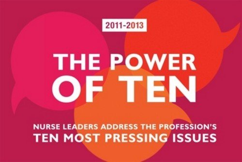 The Power of Ten 2011-2013: Nurse Leaders Address the Profession's Ten Most Pressing Issues