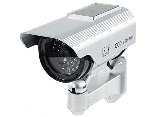 Tekit Dummy outdoor solar security camera ,Solar Fake/DUMMY CAMERA,Fake Dummy Security CCTV Dome Camera