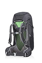 Gregory Mountain Products Wander 50 Liter Kid's Overnight Hiking Backpack, Shadow Black, One Size