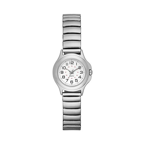 (Folio Women's Silver-Tone Expansion Watch)