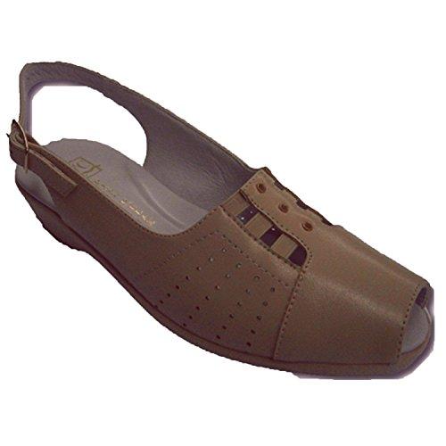 confortables beig Sandales supérieures très Cutillas dame Doctor gencives qIw01xP