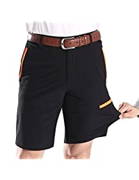 Lega Men's Relaxed Fit Stretch Quick Dry Work Shorts