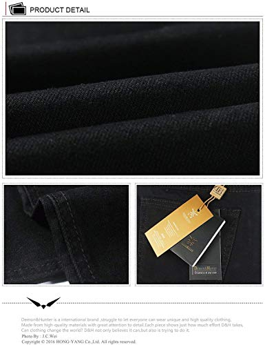 Serie Tempo Degli Colore Abbigliamento A Gamba Dei Uomini Solido 808b Di Il Libero Jeans Per Dh8081 Svago Pantaloni Dritta 0xqABwZW