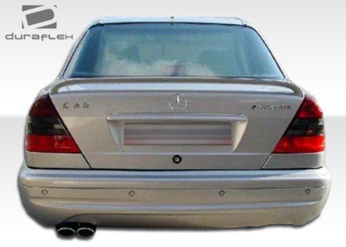 1994-2000 Mercedes C Class W202 4DR Duraflex C43 Look Rear Bumper Cover - 1 Piece (Overstock) (Body C43 Kit Look)