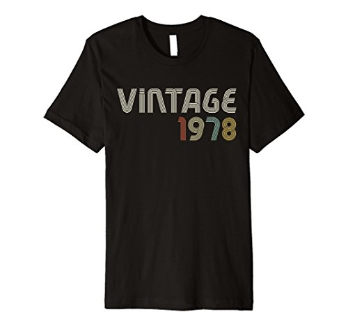 Vintage 1978 1970s Retro Premium T - Who Popular The 70s In Was