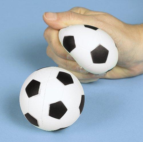 Foam Relaxable Realistic Soccer Sport Balls (1 dz)