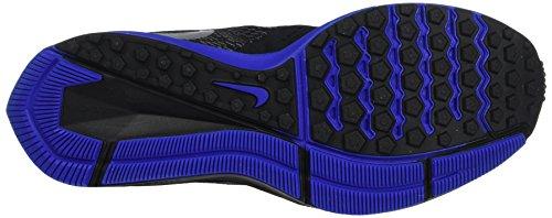 Nike Hommes Zoom Winflo 4 Noir / Métallique / Argent Chaussure De Course 8 Hommes Us