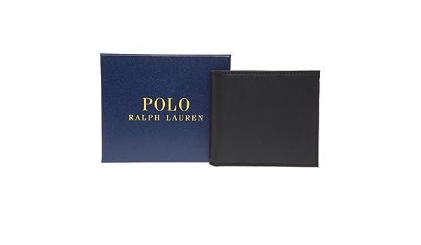 Polo Ralph Lauren - Cartera para Hombre Negro Negro H: 9cm. W ...
