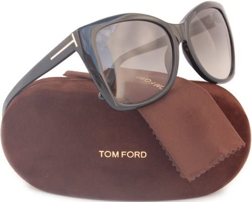 NEW TOM FORD TF 152 01B ACE BLACK GRADIENT AUTHENTIC SUNGLASSES W//CASE