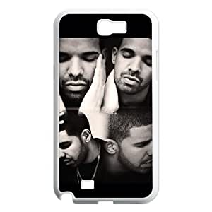 QSWHXN Diy Phone Case Drake Pattern Hard Case For Samsung Galaxy Note 2 N7100