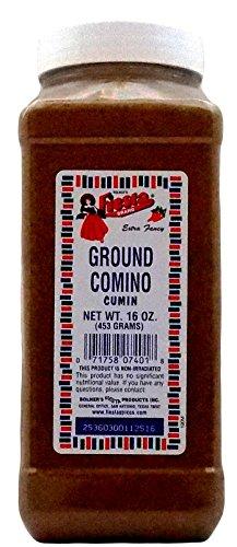 Bolner's Fiesta Extra Fancy Ground Comino (Cumin), 16 Oz. (Bottle Oz Seed 16 Ground)