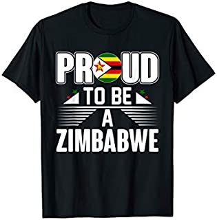 [Featured] Proud To Be A Zimbabwe in ALL styles | Size S - 5XL