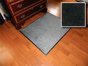Carpet Mat Pro Heavy Duty Indoor Walk Off Entry Mat For Home 3 x 7 – Grey – Non Skid Hallway Runner Matting
