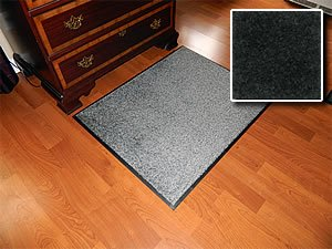 Heavy Duty Indoor Walk Off Entry Mat For Home - ''Carpet Mat Pro'' - 3' x 20' - Grey - Non Skid Hallway Runner Matting by Carpet Mat Pro