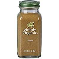 Simply Organic Cumin Large Glass, 65g