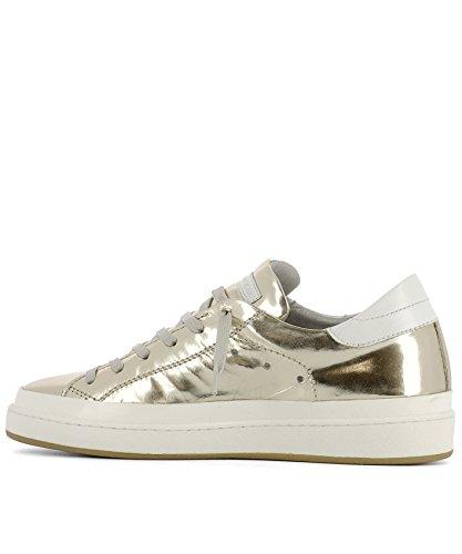 Philippe Model Sneakers Uomo CKLUMS08 Vernice Oro